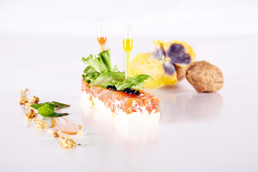 Saumon et fromage