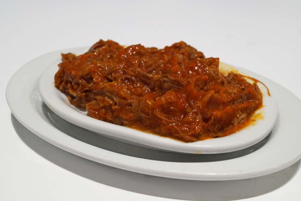 Meat with tomato