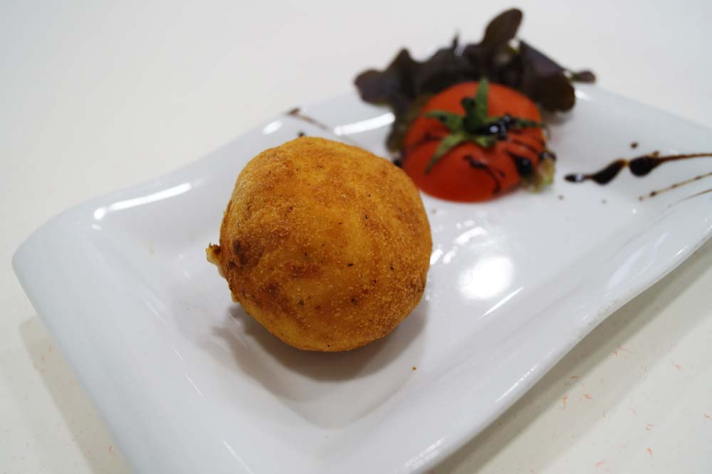 Idiazabal cheese fritter
