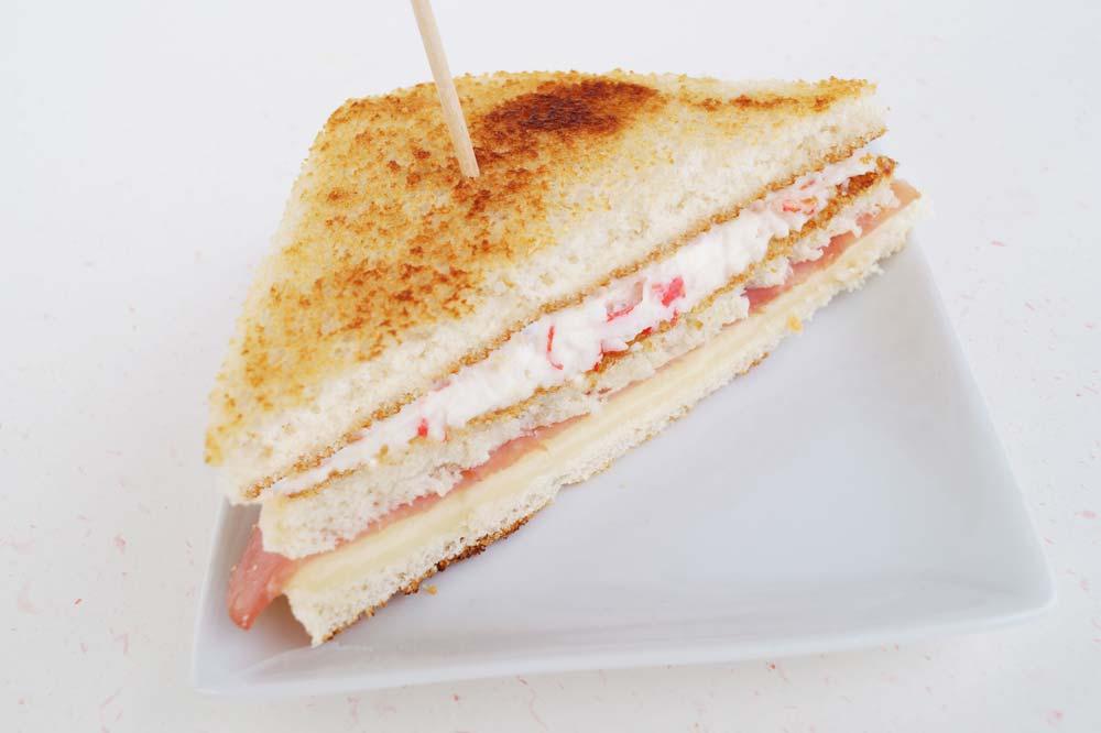 Mixto-Sandwich mit Surimi